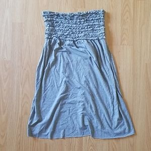 Grey swim cover up